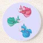 """Sleeping Beauty Fairies Drink Coaster<br><div class=""""desc"""">Sleeping Beauty</div>"""