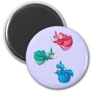 Sleeping Beauty Fairies Refrigerator Magnet