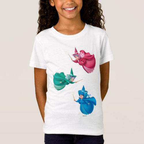 Sleeping Beauty Fairies T_Shirt