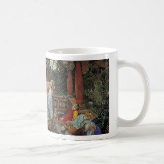Sleeping Beauty in the Pavilion Coffee Mug