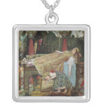 Sleeping Beauty in the Pavilion Pendant