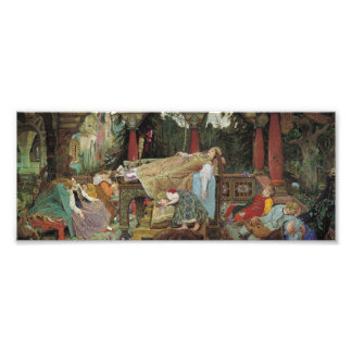 Sleeping Beauty in the Pavilion Photo Print