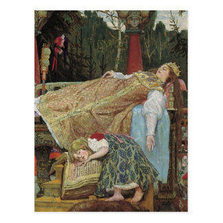 Sleeping Beauty in the Pavilion Post Card