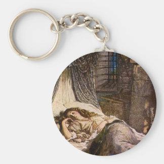 Sleeping Beauty Keychain