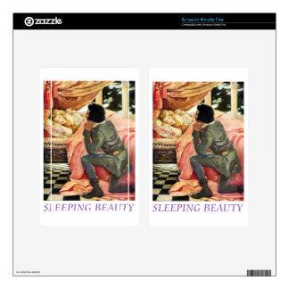 Sleeping Beauty Kindle Fire Skins