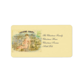 Sleeping Beauty Label