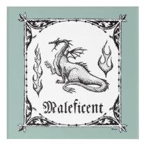 Sleeping Beauty | Maleficent Dragon - Gothic Acrylic Wall Art