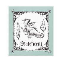 Sleeping Beauty | Maleficent Dragon - Gothic Canvas Print