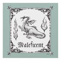 Sleeping Beauty | Maleficent Dragon - Gothic Panel Wall Art