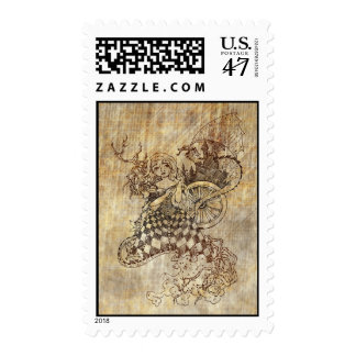 Sleeping Beauty Postage Stamp