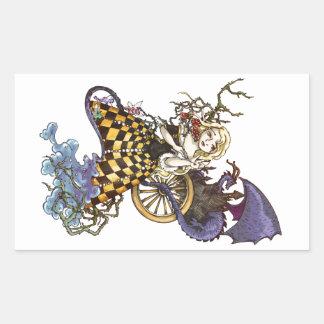 Sleeping Beauty Rectangular Sticker