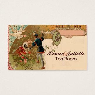 Sleeping Beauty Romeo Juliet Business Card