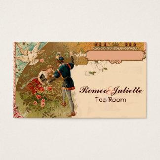Sleeping Beauty Romeo Juliet Fairy tale Business Card