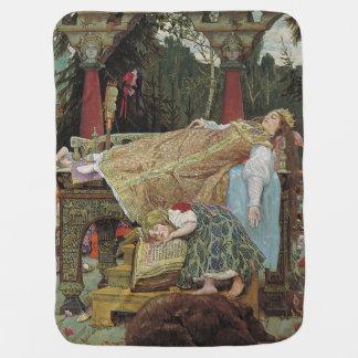 Sleeping Beauty Stroller Blanket