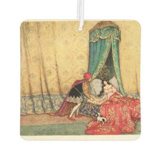 Sleeping Beauty vintage illustration Air Freshener