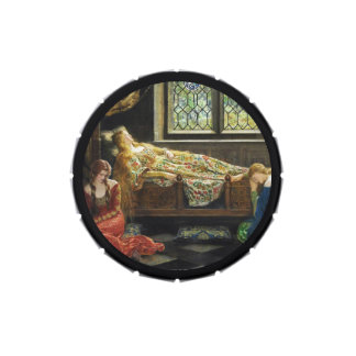 Sleeping Beauty with Handmaidens Jelly Belly Tin