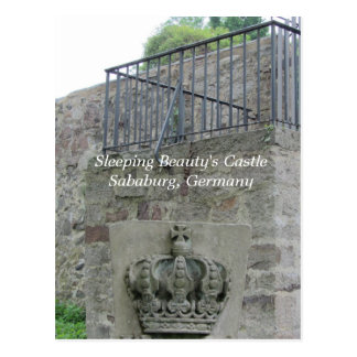 Sleeping Beauty's Castle - Sababurg, Germany Postcard