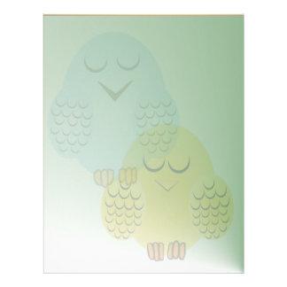 Sleeping Birds Letterhead