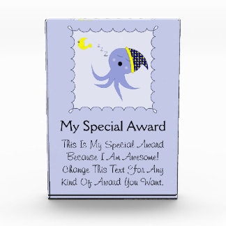 Sleeping Blue Octopus Award