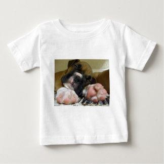 Sleeping Boxer puppy toddler shirt