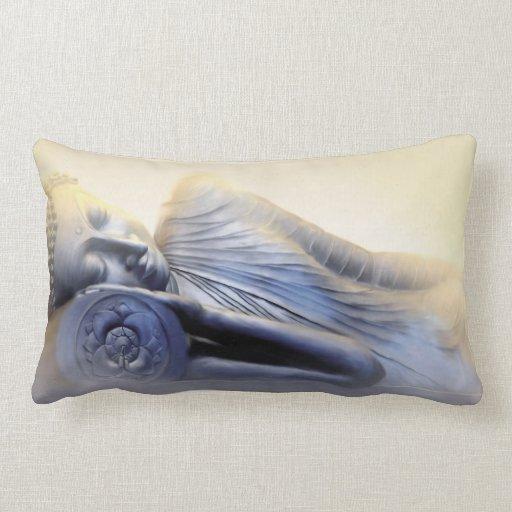 Sleeping Buddha III Throw Pillow