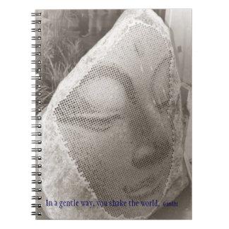 Sleeping Buddha Spiral Notebook