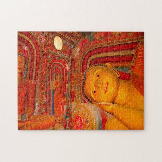 Sleeping Buddha- Sri Lanka. Jigsaw Puzzle