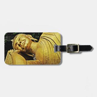 Sleeping Buddha Statue Bag Tag