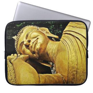 Sleeping Buddha Statue Computer Sleeve