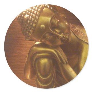 Sleeping Buddha sticker