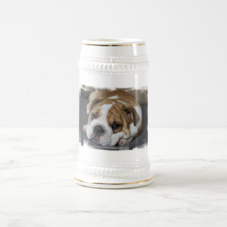 Sleeping Bulldog Beer Stein