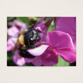 Sleeping Bumble Bee ~ ATC Business Card