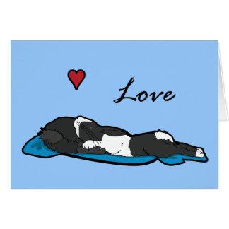 Sleeping Bunneh Card