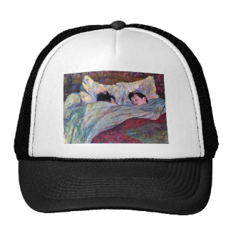 Sleeping by Toulouse-Lautrec Trucker Hat