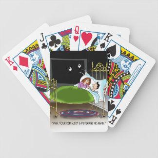 Sleeping Cartoon 9375 Bicycle Playing Cards