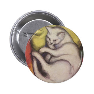 Sleeping Cat Artwork by Franz Marc Pins