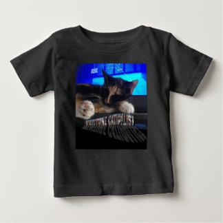 Sleeping Cat Baby T-Shirt