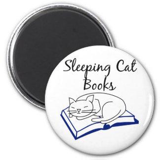 Sleeping Cat Books magnet
