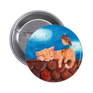 Sleeping Cat button