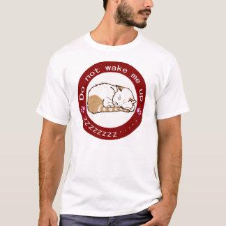 sleeping cat (Circle) 2 T-Shirt