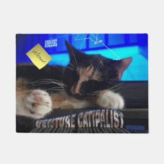 Sleeping Cat Doormat