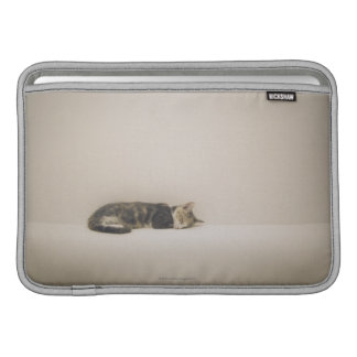 Sleeping cat MacBook air sleeves