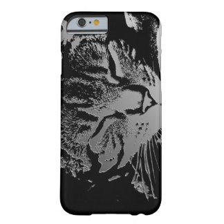 Sleeping Cat Sketch Barely There iPhone 6 Case