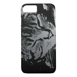 Sleeping Cat Sketch iPhone 8/7 Case