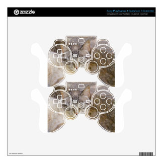Sleeping cat skin for PS3 controller
