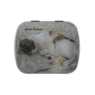 Sleeping Cat-Sweet Dreams Candy Tins