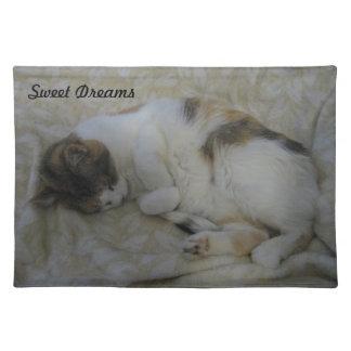 Sleeping Cat-Sweet Dreams Placemat