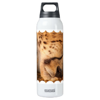 Sleeping Cheetah 16 Oz Insulated SIGG Thermos Water Bottle
