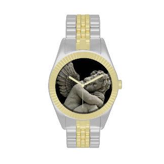 Sleeping cherub statue Watch