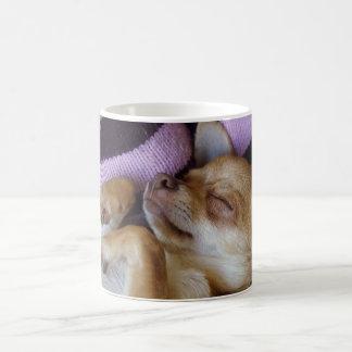 Sleeping Chihuahua Coffee Mug